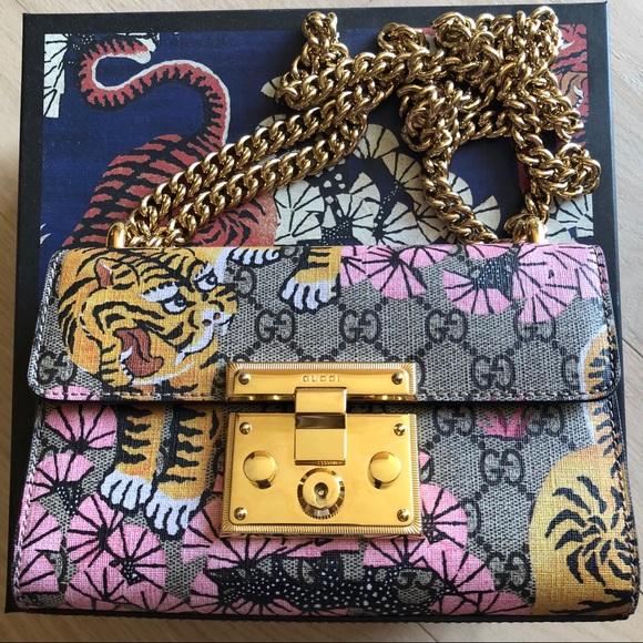 02ae0d8daacc Gucci Bags | Supreme Bengal Cat Shoulder Bag | Poshmark